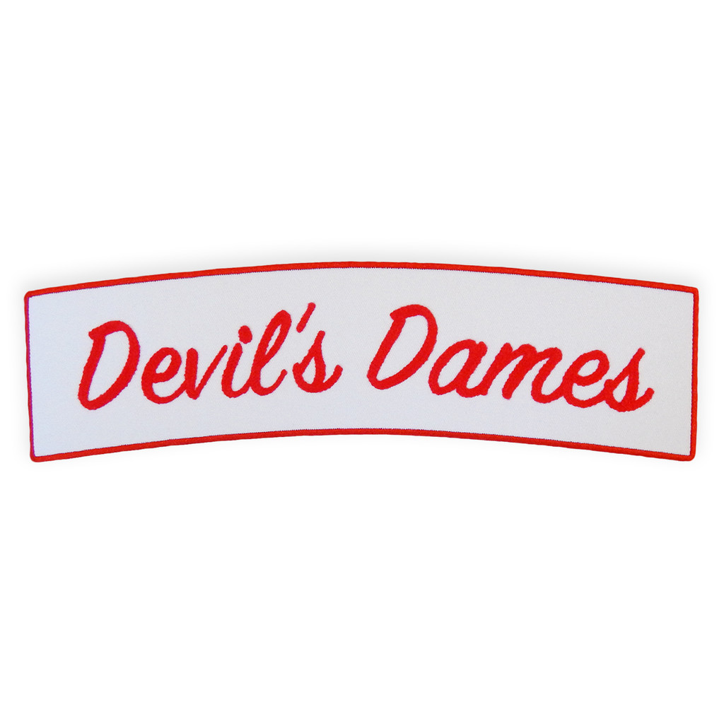 Devil's Dames Back Patch