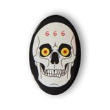 Metal Skull Badge