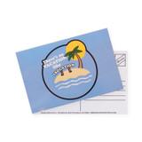 Isolation Vacation Postcard