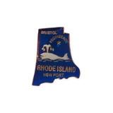 Vintage Rhode Island Pin