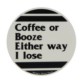 "Coffee or Booze 3"" Sticker"