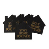 Stay Home Forever Coaster Pack