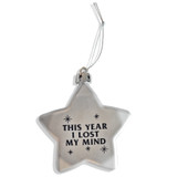 Lucky Stars Losing It Ornament