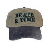 Death and Time Stonewash Dad Cap