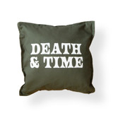 Death and Time Pillow