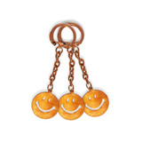 Vintage Smiley Keychain