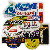 Vintage Christian Summer Camp Stickers
