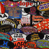 """The Worst of the 90's Vintage Bumper Stickers 6"""""""