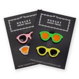 Vintage Sunglasses Button Set