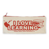 I Love Learning Pencil Pouch