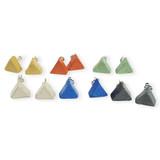 Concrete Jewelry Triangle Studs