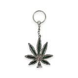 Vintage Weed Keychain