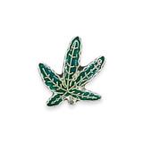 Vintage Weed Leaf Pin