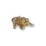 Vintage Brown Tiger Pin