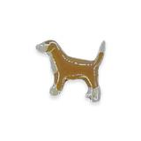 Vintage Hound Dog Pin