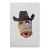 Large Cowboy Large Print Made By Eddie Mellow
