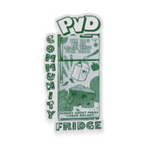 PVD Community Fridge Magnet