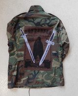 Crucified Camo Parka
