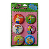 The Simpsons Vintage Deadstock Buttons