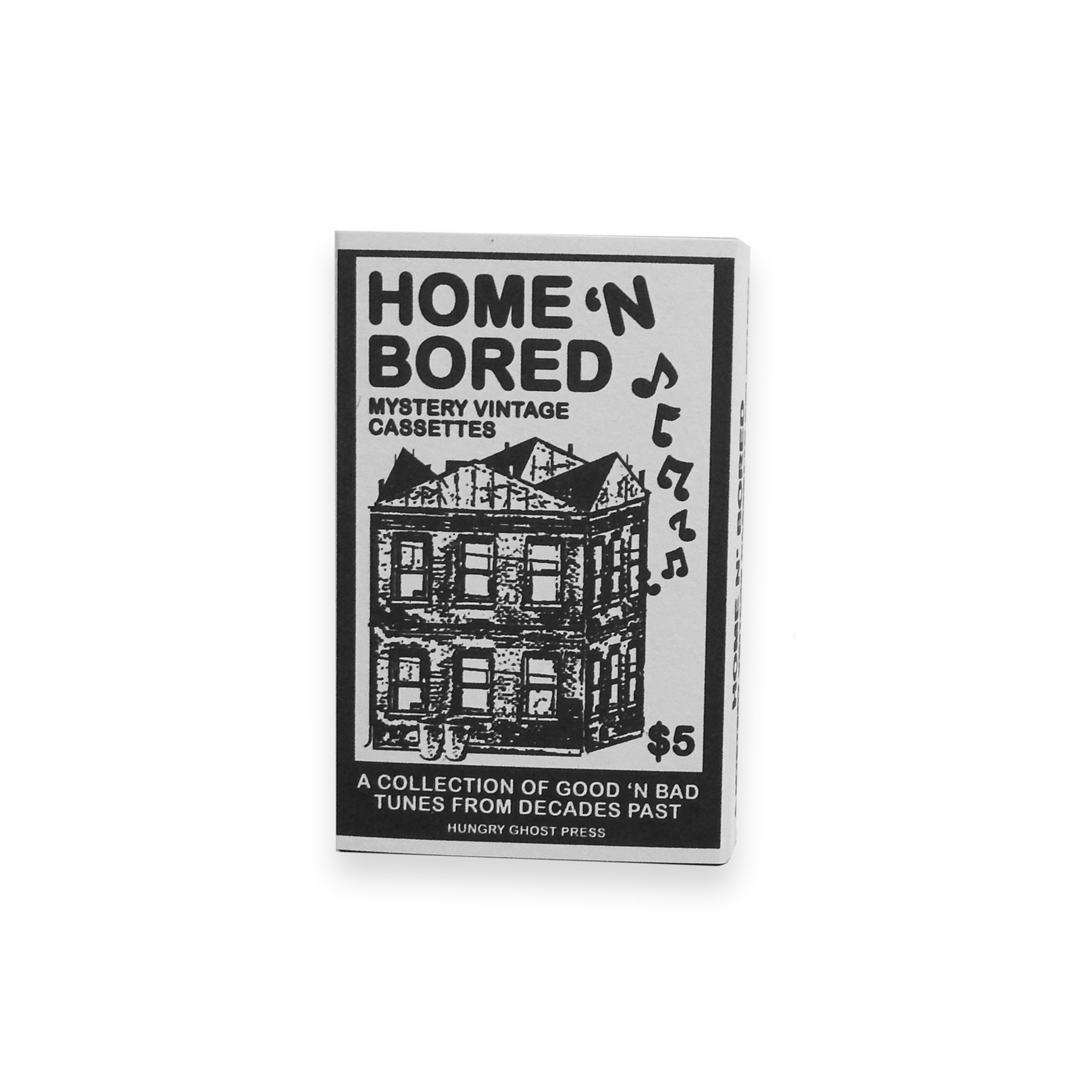 Home N' Bored Mystery Vintage Cassettes