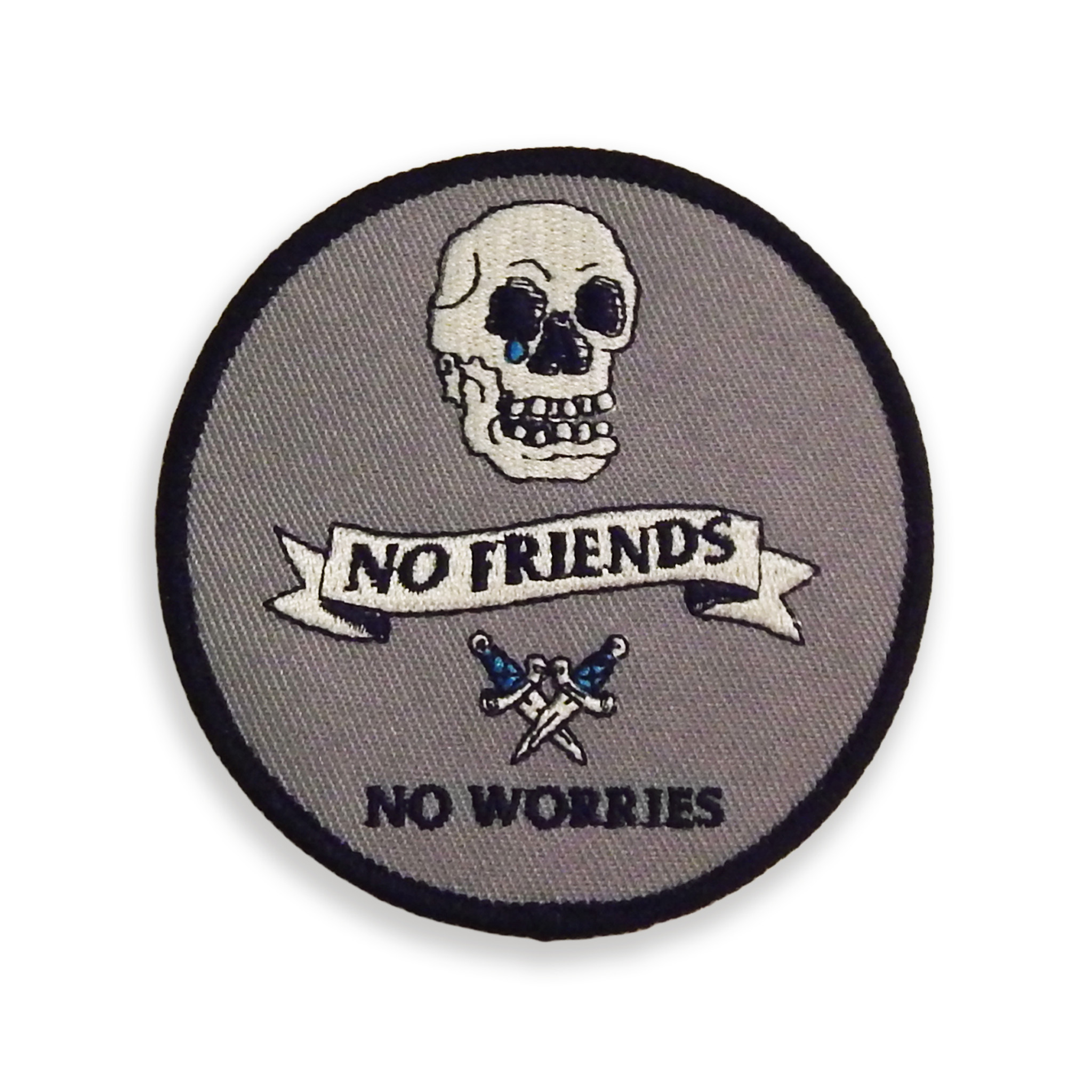 No Friends No Worries Patch