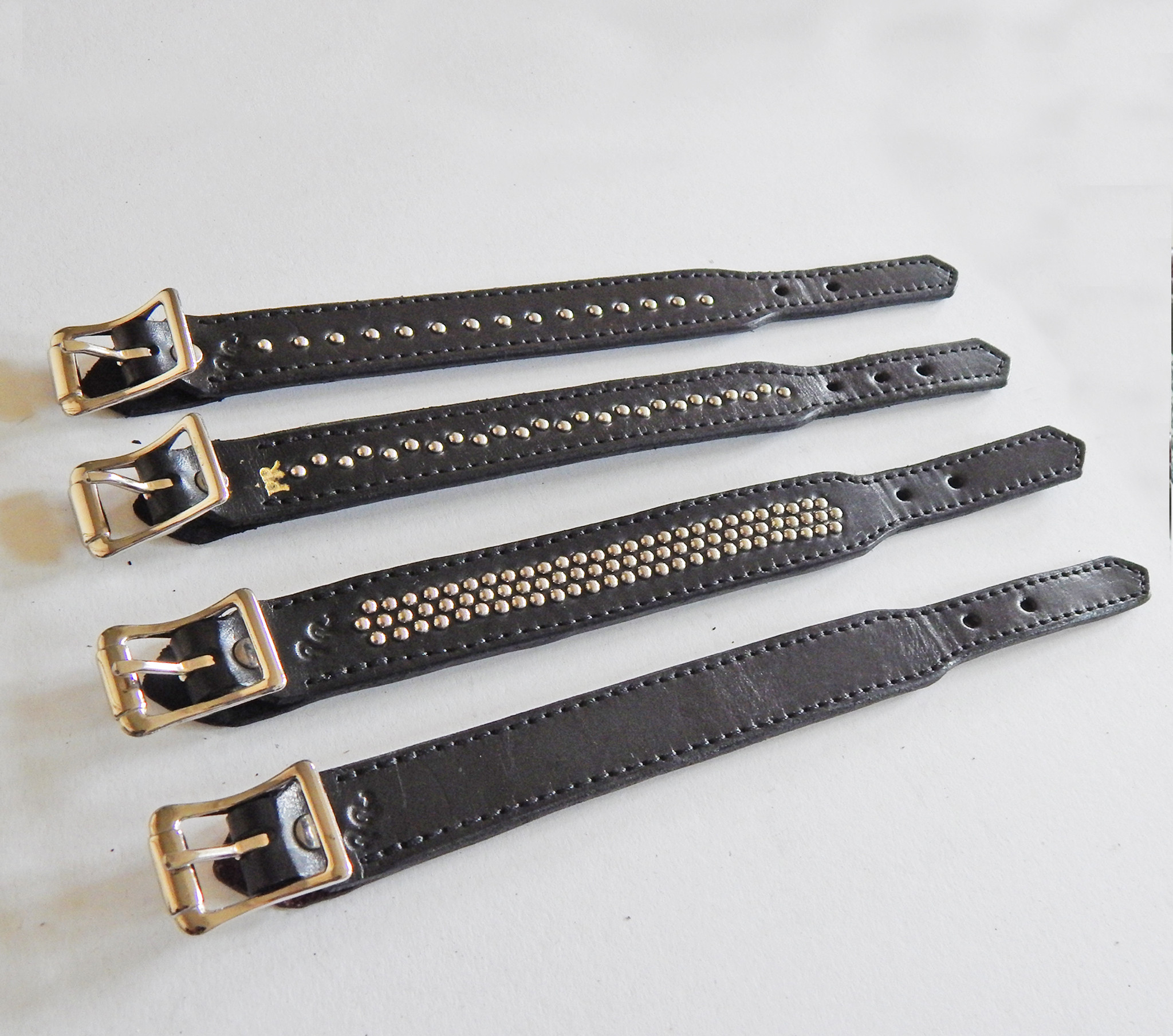 Double Layer Leather Wristband