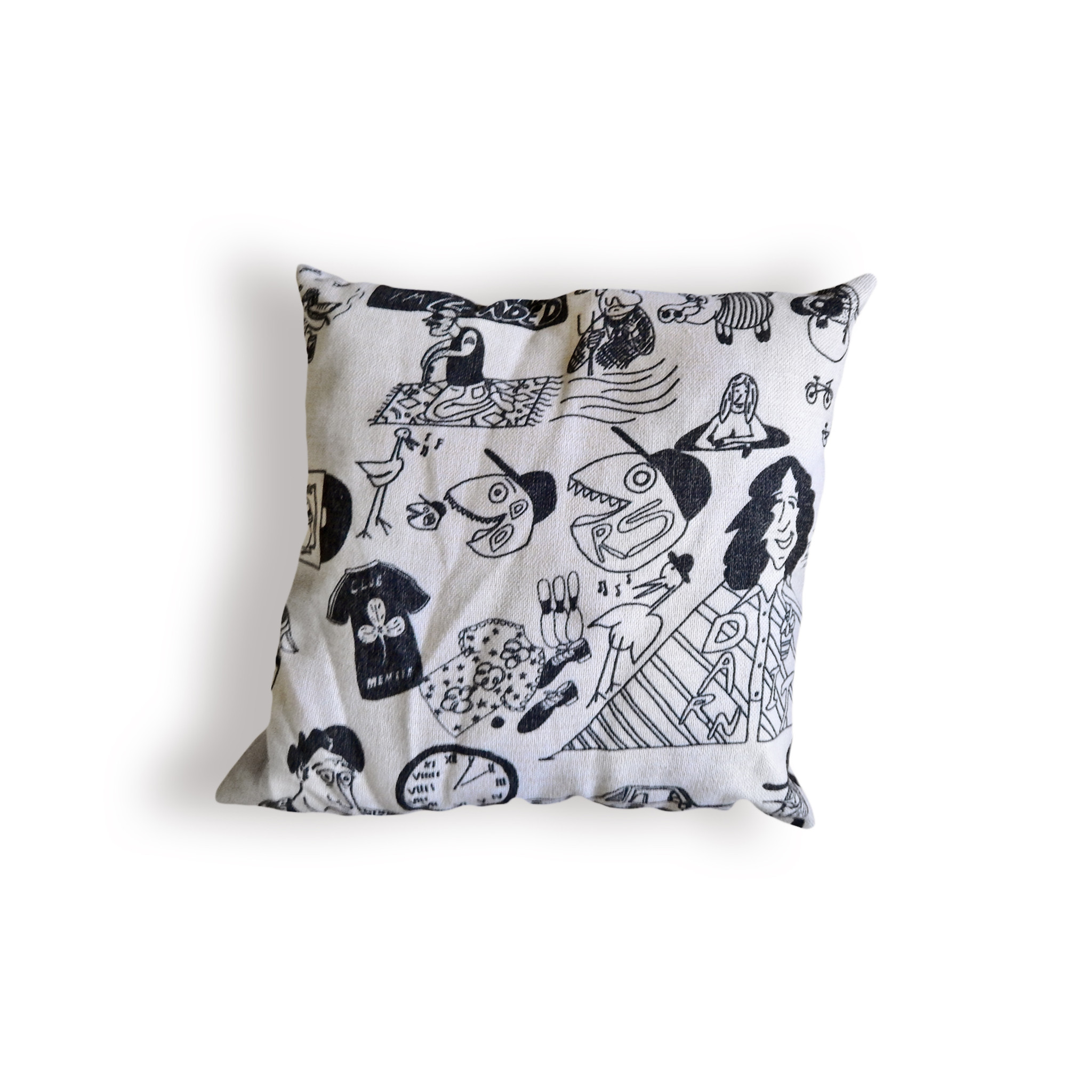Josh Croteau's Loaded Pillow Cover