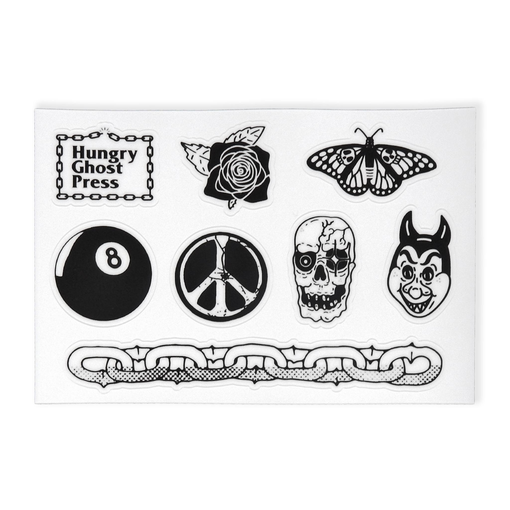 Flash Die Cut Sticker Sheet