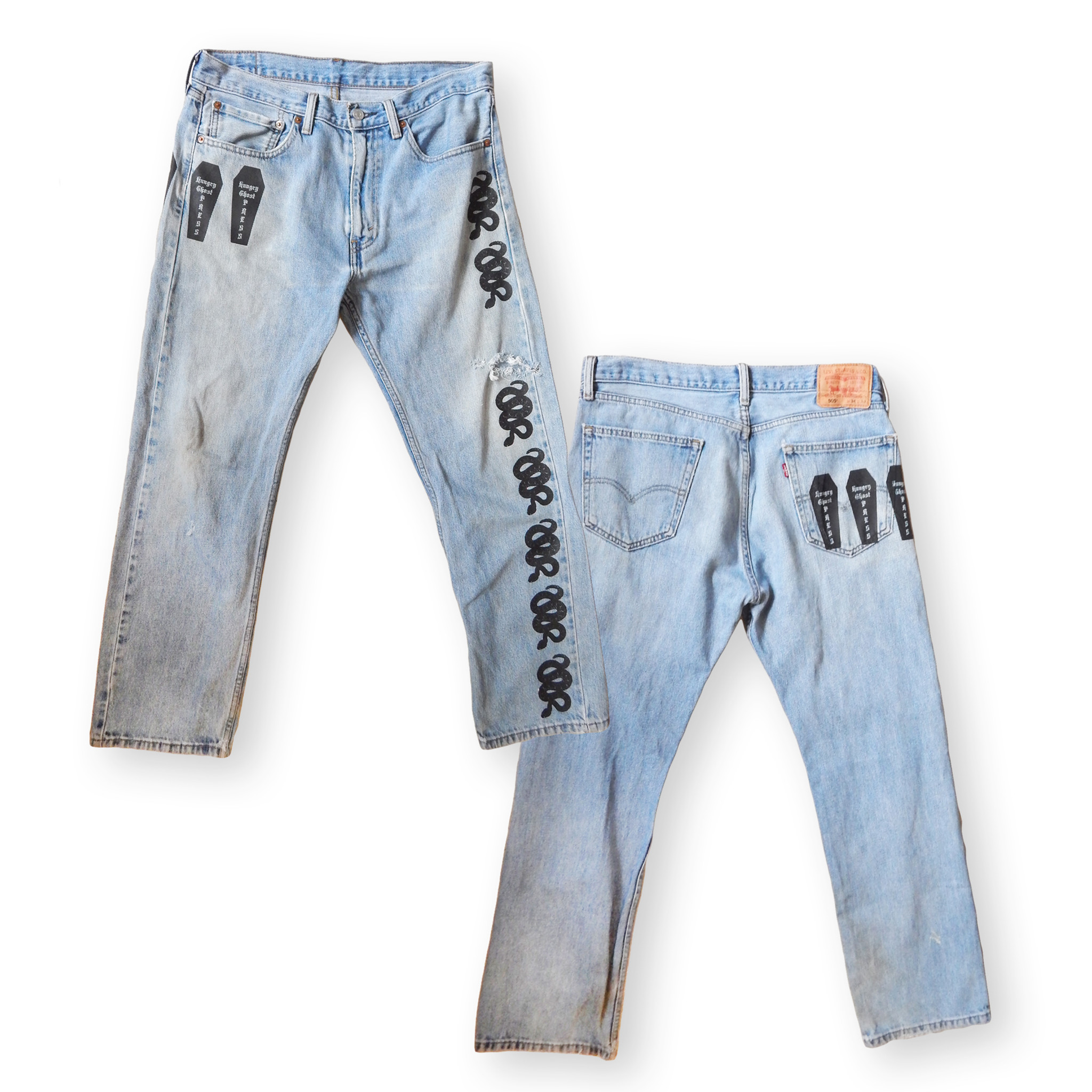 Rattlesnakes Jeans One Off