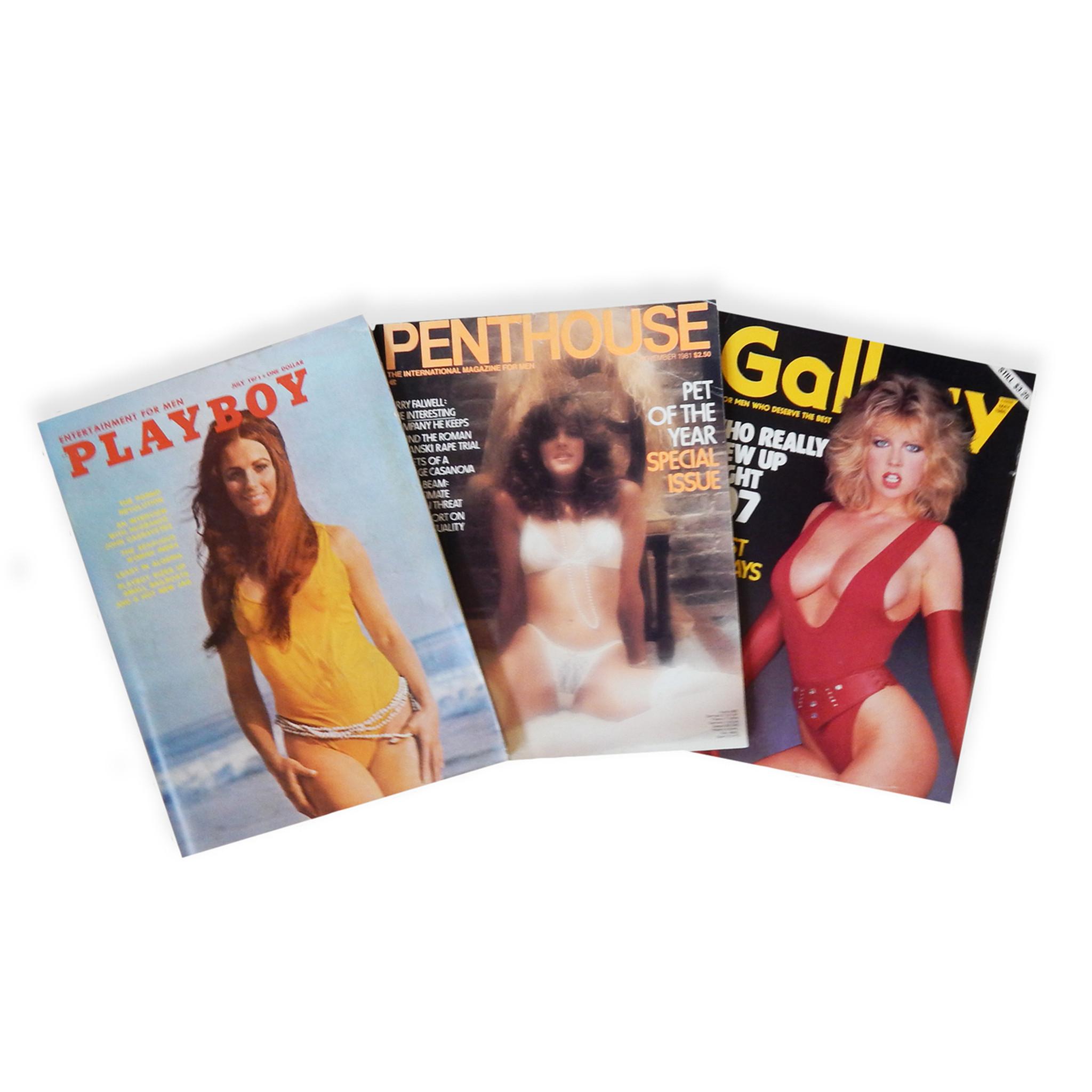 Vintage Porn & Playboy Magazines