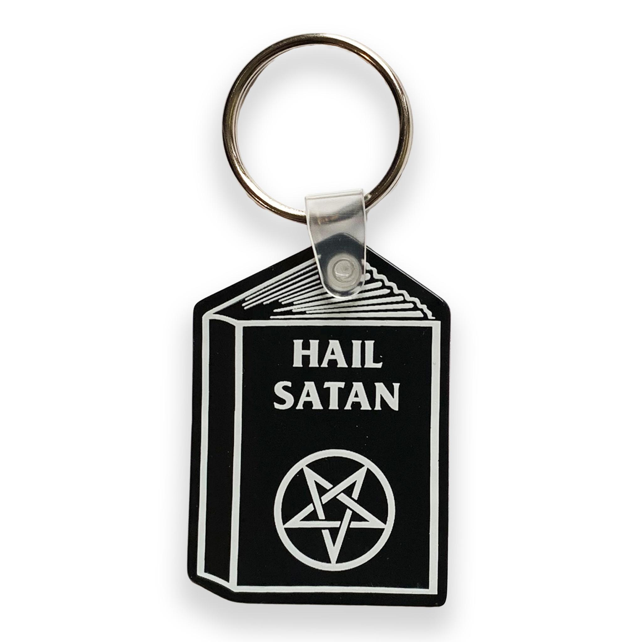 Hail Satan Keychain