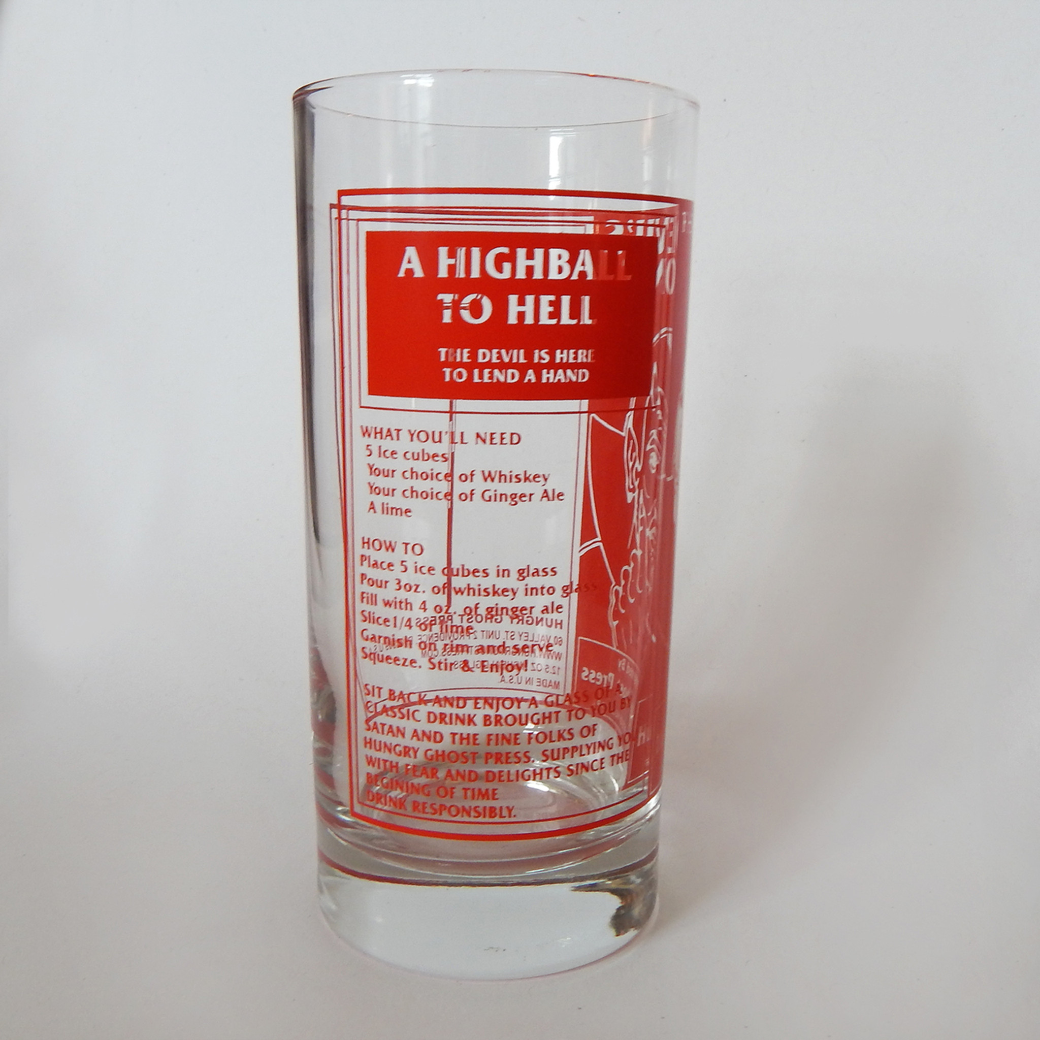 The Devil's Tonic Highball Glass