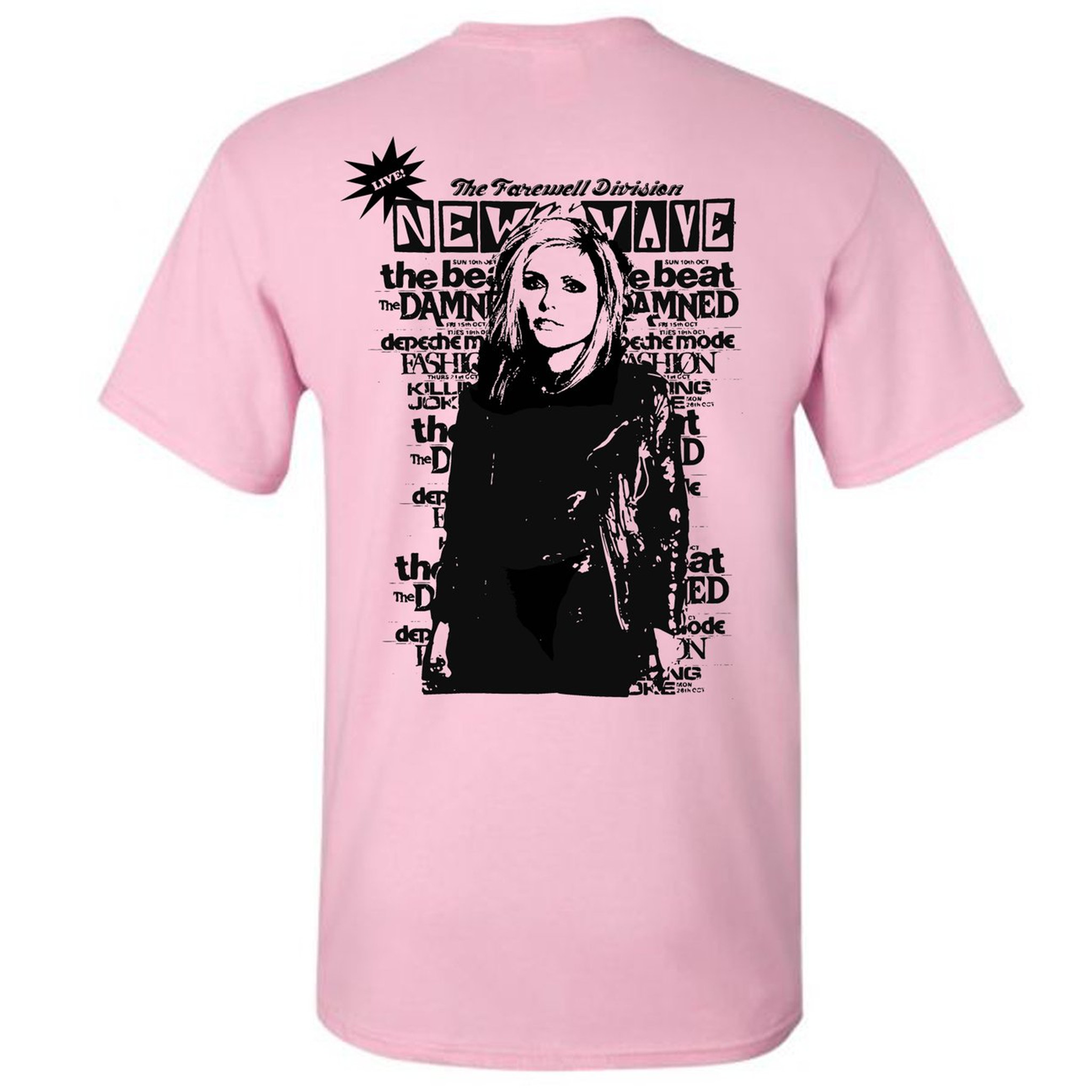"""New Wave Woman"" Tee from Farewell"