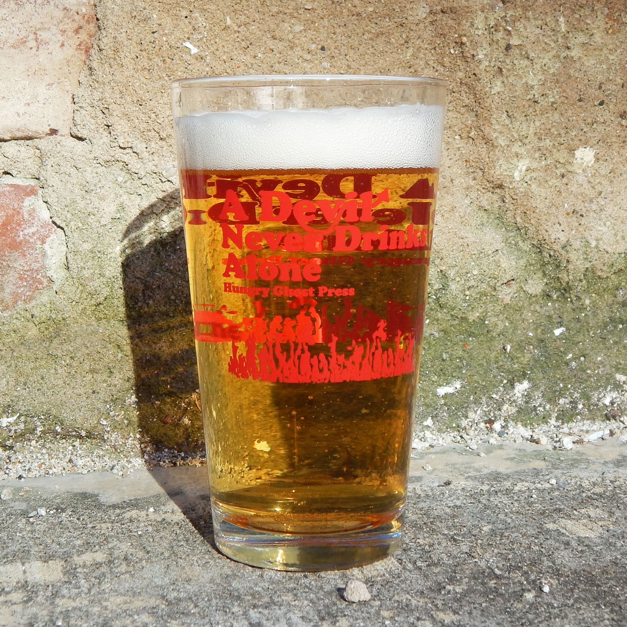 Devil Drinker Pint Glass