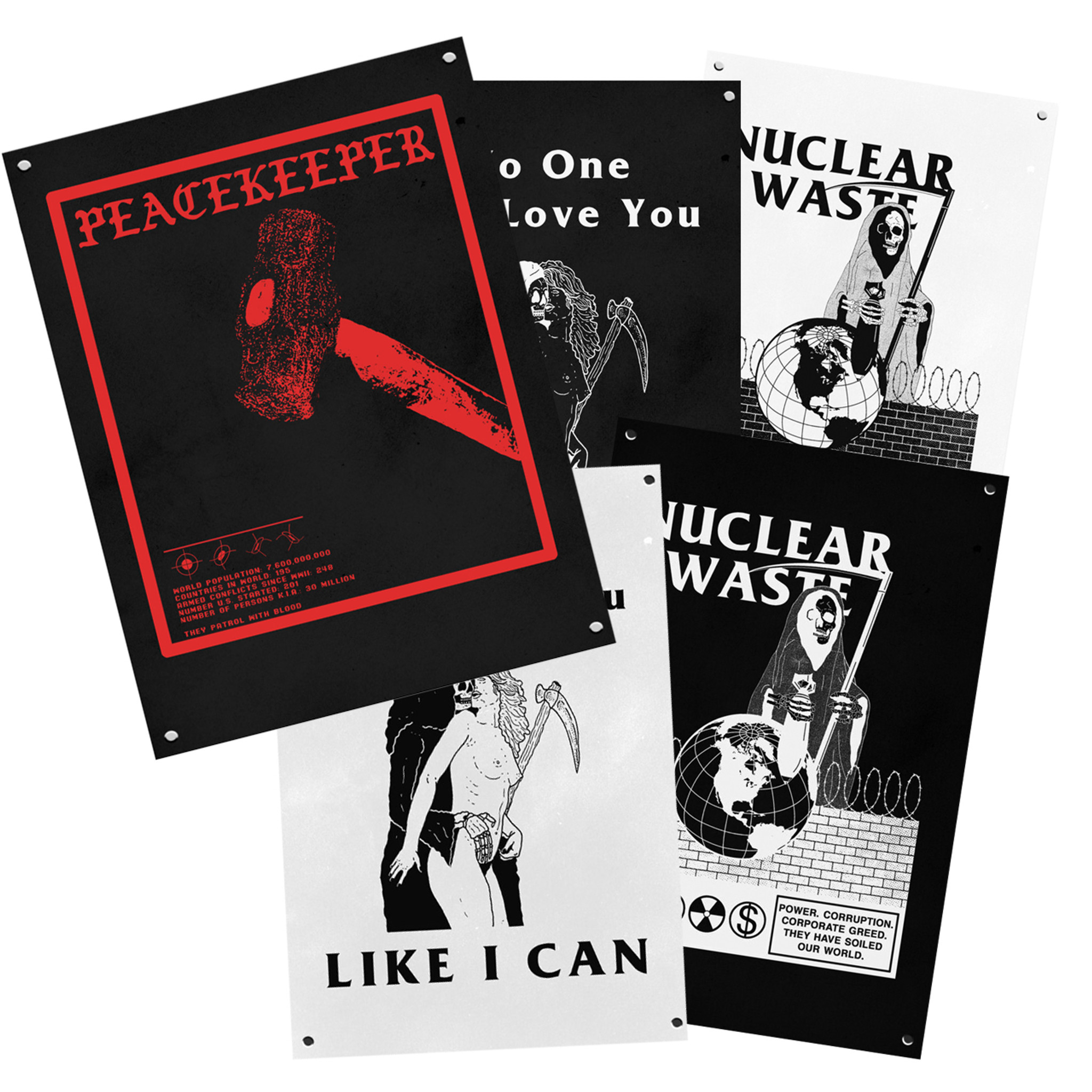 Mystery MISSPRINT Posters