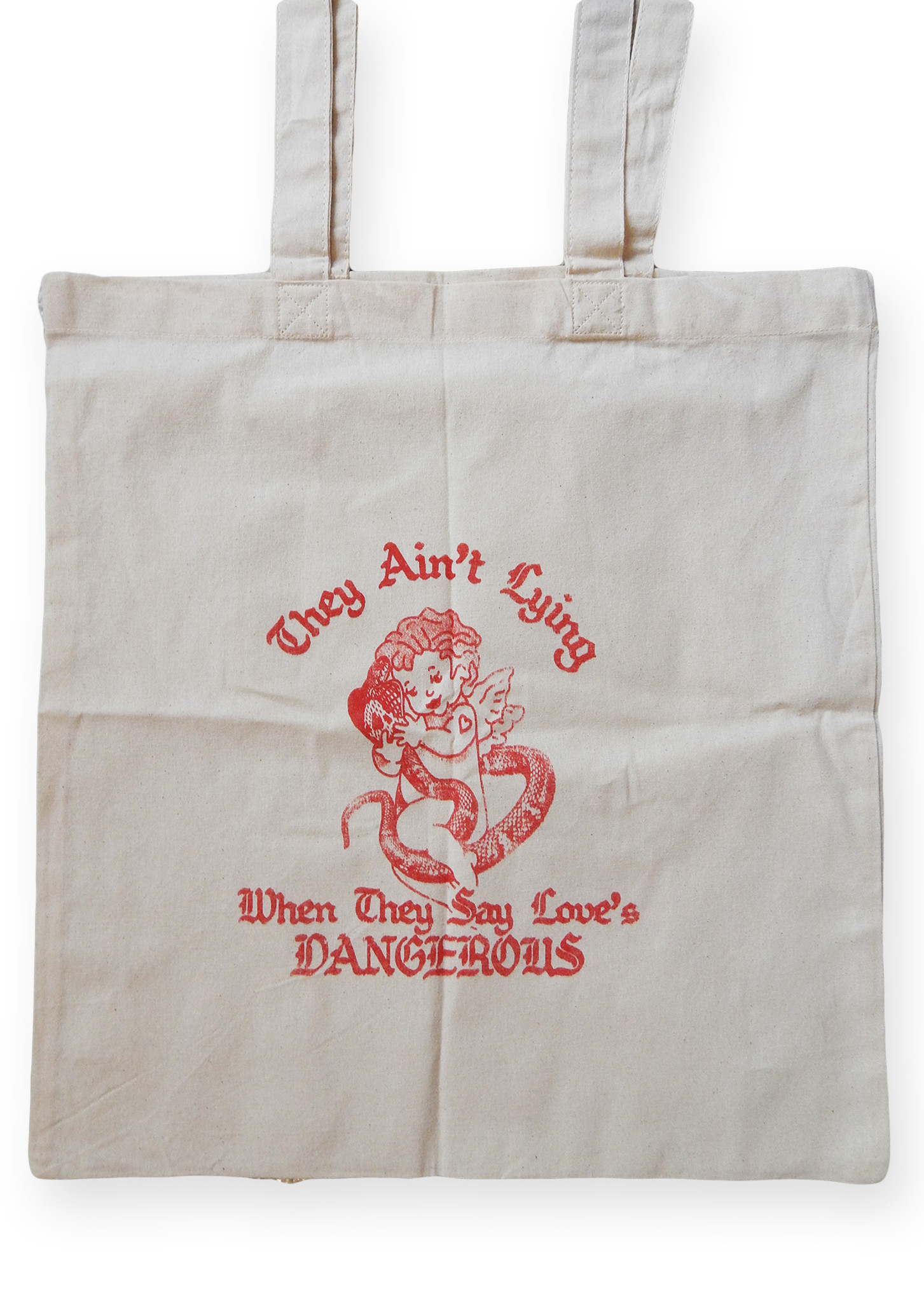 Love is Dangerous Tote Bag