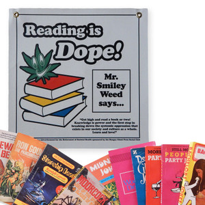 Reading is Dope Wall Hanging