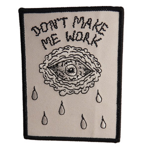 No Work Iron On Patch
