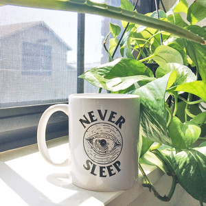 Never Sleep Mug