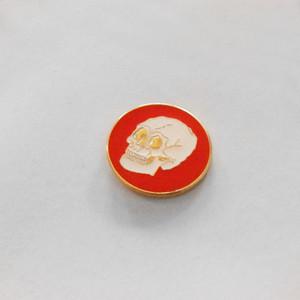 Gold Skull Pin