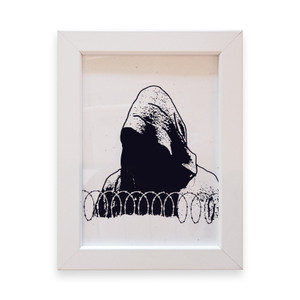 Age of Sin Framed Screen Print
