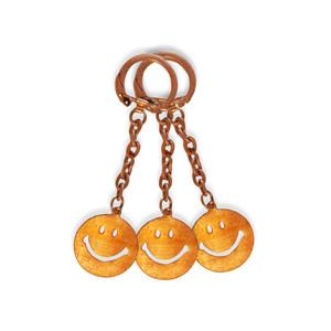 Vintage Smiley Keychain