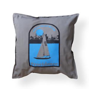 Ocean State Blues Pillow