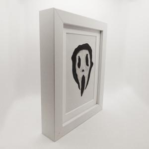Scream Face 1 Framed Print Made By Eddie Mellow