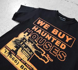 Haunted Houses Short Sleeve Tee Black