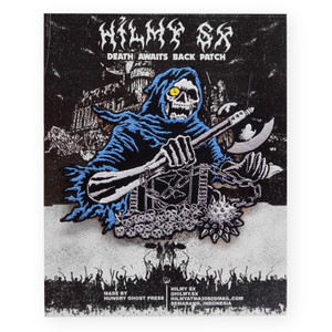 Hilmy SX Death Awaits Back Patch