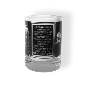 Never Sleep Whiskey Tumbler Glass