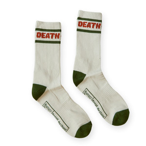 Death and Time Crew Socks