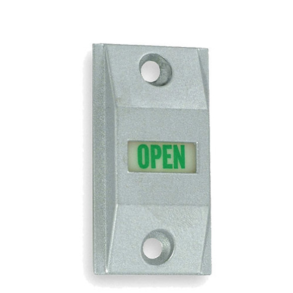 ADAMS RITE Door Exit Indicator - Clear Anodized