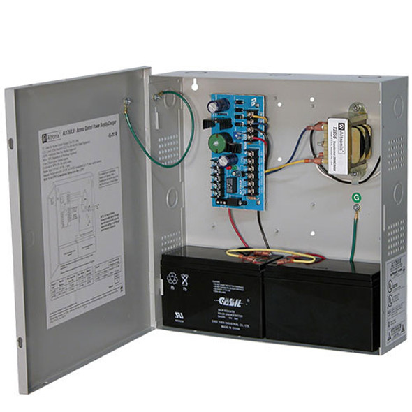 Altronix 12/24 VDC selectable output Hardwired Power Supply